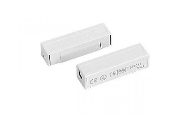 Contacto magnético UL CE para puertas y ventanas color blanco