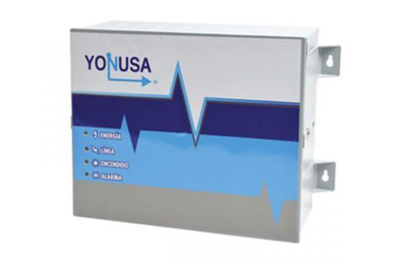 Energizador de 12,000Volts-.9JOULES/250 Mts de protección para 5 Lineas/Activado por Atenuación de voltaje,Corte de línea o Aterrizamiento de la línea/Integración a panel de Alarma.