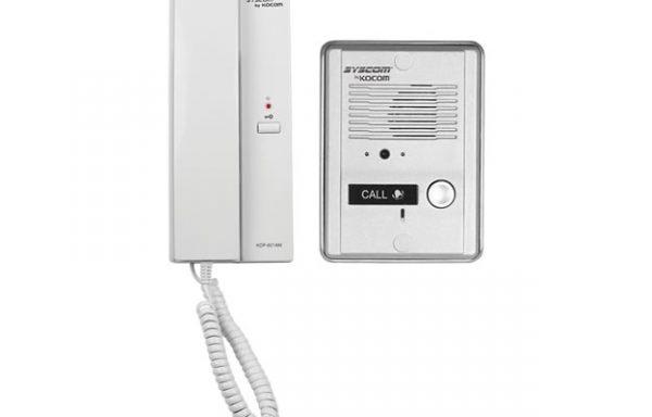 Kit de audio portero con un auricular (expandible hasta 3 auriculares)