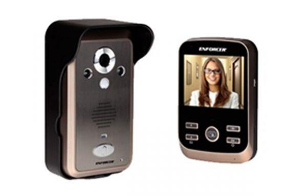 Kit de TV Portero inalámbrico expandible a 3 monitores
