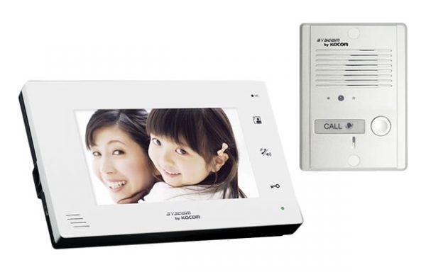 Kit de TV portero manos libres con pantalla LCD a color de 7″